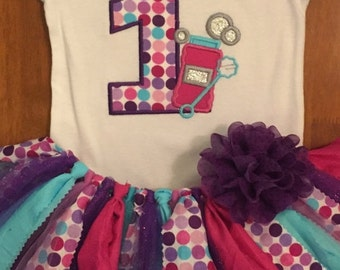 ON SALE Bubbles Birthday Tutu Outfit