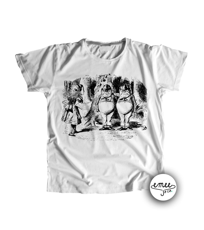 Alice in Wonderland Baby Clothes Tweedle Dee and Tweedle Dum