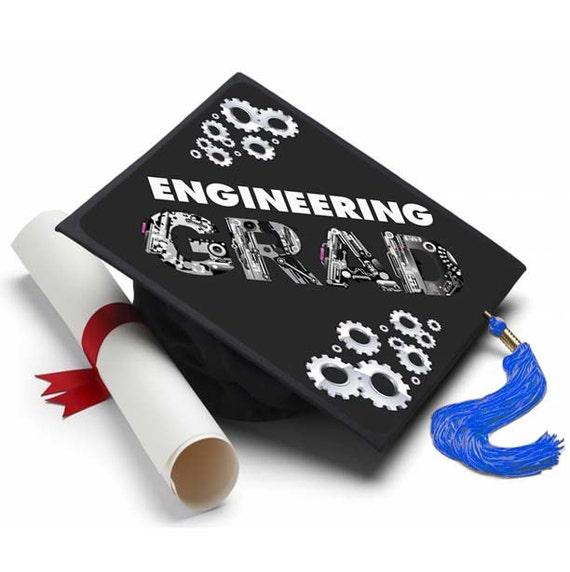 Engineering Grad Decorated Grad Cap Decorating Kit Ideas