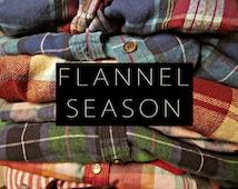 Vintage Oversize Flannel Shirts // Distressed Flannels // Coachella // Plus Size Flannels // 4X 5X