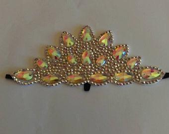 Irish dancing bling Flexi hairband