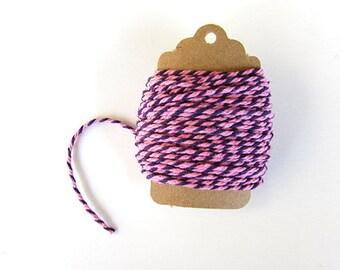 Baker's Twine - Pink & Purple 10 Meters