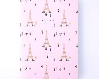 Paris illustrated notebook