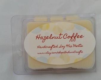 Hazelnut Coffee Soy Wax Melts -  Coffee Wax Melts - Hazelnut Wax Melts - Highly Scented Wax Melts