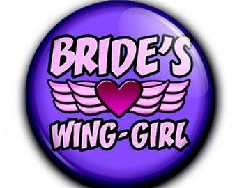 Badge bride wing-girl