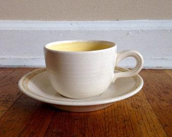 Franciscan Hacienda Gold Cup & Saucer Set