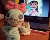Scrump the Voodoo Doll (Lilo and Stitch) Crochet Amigurumi INSTRUCTIONS ONLY
