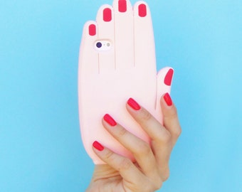 HAND IPHONE CASE (I Phone 5, 5C, 5S & Se)