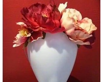 Flower crown - corolla - Fascinator - Roses