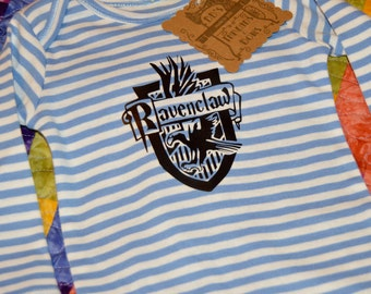 Harry Potter Themed Ravenclaw House Crest Onesie