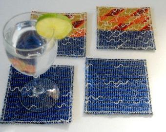 Coasters 'Sunset', Set of 4