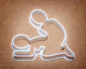 Doing it Doggy cookie cutter Made in the UK 3d printed for adult themed parties mature content