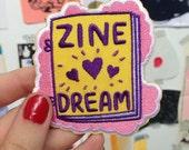 Zine Dream iron-on patch