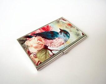 The Bird - Card Holder, Business Card Case, Credit Card Case