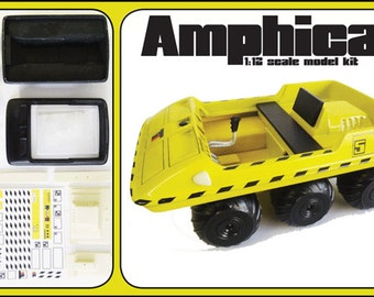Space 1999 amphicat moon buggy 1:12 model kit scifi retro sience fiction by century castings