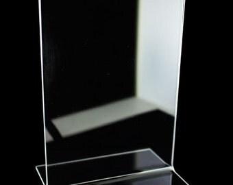 Acrylic Sign Holder 3.5Wx5.5H (Pkg of 6) (DSI911)