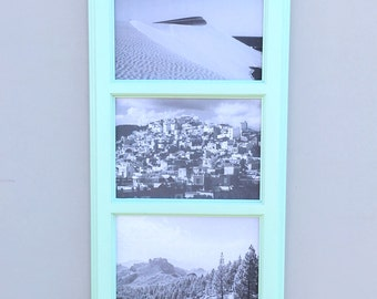 "Picture Frame Collage – Small – Picture Frame – Three 4""x6"" Openings"