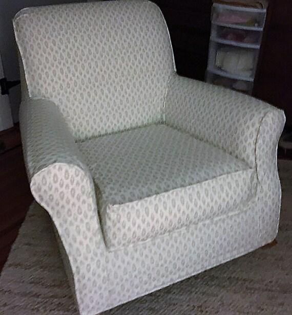 Housses sur mesure pour votre chaise pottery barn par for Chaise berceuse