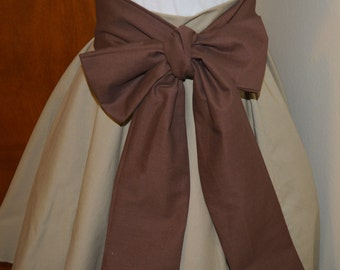 Sash Only - Chocolate Brown