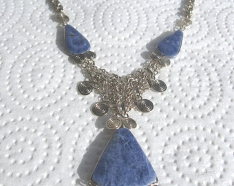 Peruvian Sodalite Necklace #44