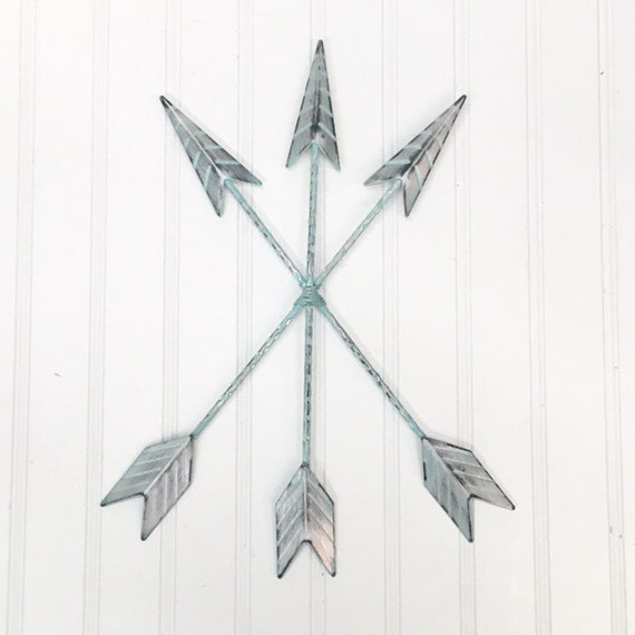 Gold Arrow Wall Decor : Arrow wall hanging decor bohemian by theshabbystore