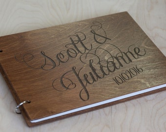 Guest Book, Wedding Guest Book, Wedding Album, Rustic Guest Book, Wedding, Wood Guest Book, Wedding Guestbook, Guestbook, Custom Guest Book