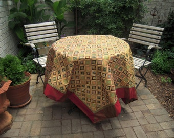 French Tablecloth Italian Fabrics Renaissance Inspired Vintage
