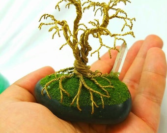 Tree of life, Bonsai handmade sculpture