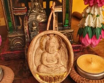 Buddha - Monile, piccola nicchia - altare - Buddismo - preghiera