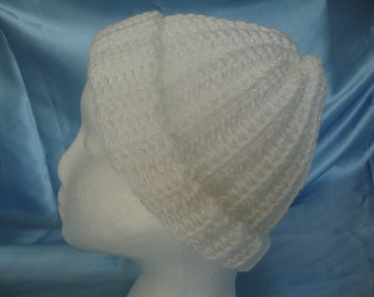 Ladies Crocheted Beanie Hat - Womans Hat - Womans Beanie - Womans Beanie Hat -Ladies Beanie Hat - Knitted Hat -  Hat Ready to ship