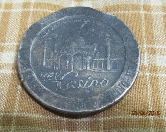Vintage Token Coin Freeport Grand Bahama Island Casino One Dollar game Token 1979