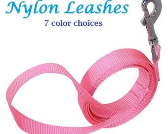 Nylon Dog Leash - Small Medium and Large