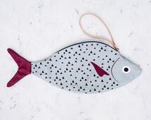 TUNA - fish tote bag - 100% cotton