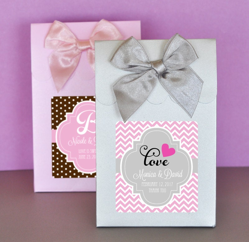 Wedding Favor Boxes Personalized Wedding Favors Personalized