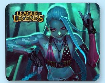 League of Legends Jinx Mousepad