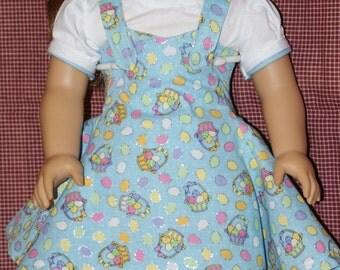 """Easter Dress for 18"""" Doll"""