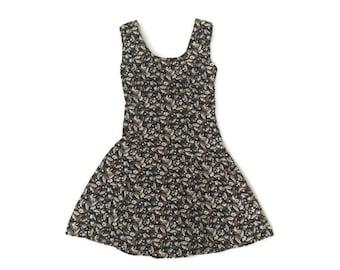 Vintage Floral Babydoll Dress