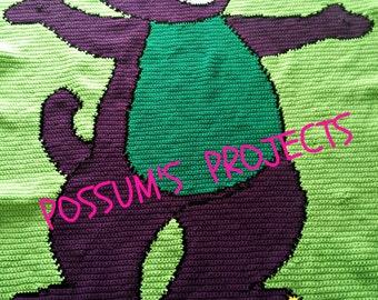 Barney Dinosaur Knitting Pattern : Crochet barney Etsy