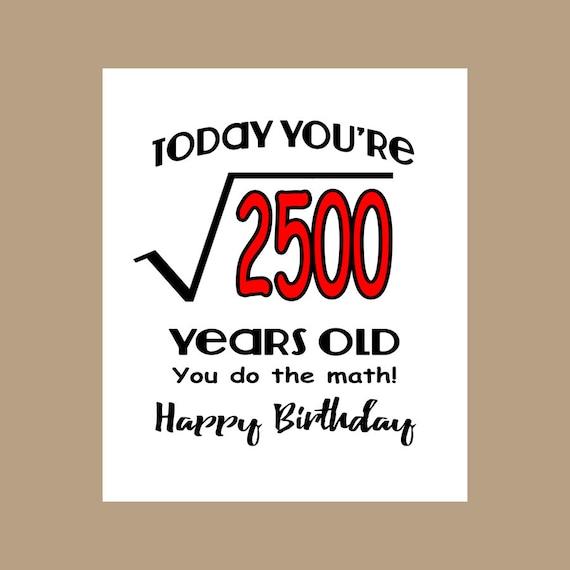 50th Birthday Card Geek Birthday Card 1967 Birthday Nerd – Nerdy Birthday Card