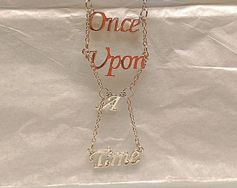 Once Upon a Time themed necklace
