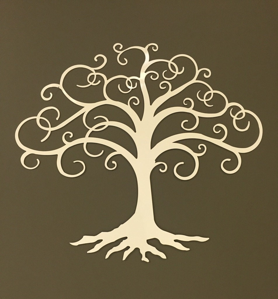 tree of life industrial metal wall art 24. Black Bedroom Furniture Sets. Home Design Ideas