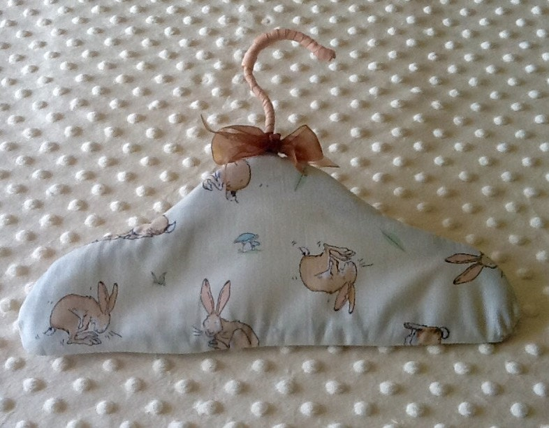 Baby unisex clothes hanger handmade using australian fabric for Unisex baby fabric