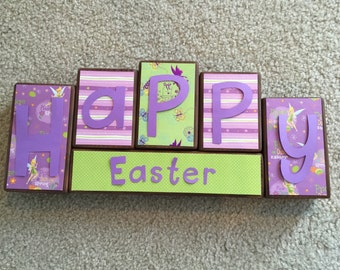 Easter blocks- Tinkerbell