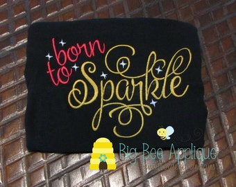Sparkle Girls Embroidery Design