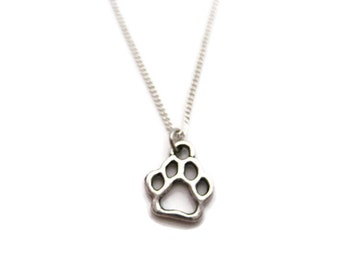 Dog Paw Necklace Paw Print Necklace Paw Necklace Pet Lover Necklace  Dog Paw Jewelry Paw Print Jewelry Paw Jewelry Pet Parent Gifts