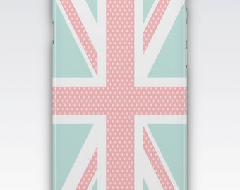 Case for iPhone 8, iPhone 6s,  iPhone 6 Plus,  iPhone 5s,  iPhone SE,  iPhone 5c,  iPhone 7,  Vintage Chic Union Jack Flag iPhone