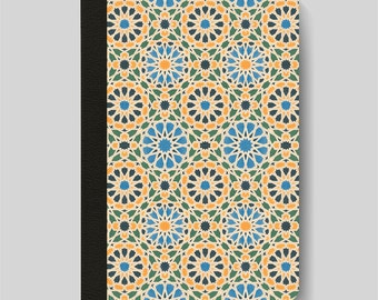 iPad Folio Case, iPad Air Case, iPad Air 2 Case, iPad 1 Case, iPad 2 Case, iPad 3 Case, Moroccan Geometric Tile Patterned iPad Case