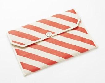 """Envelope shape 13"""" Macbook Laptop case / Stripe-Color options"""