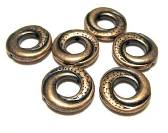 Antique Copper Bead Frames 15mm