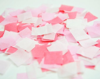 Pink Confetti, Biodegradable Confetti, Pink Wedding, Pink Birthday Party, Baby Girl Birthday, Baby Girl Cake Smash, Gender Reveal Confetti